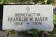 Franklin W. Baker