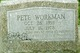 Pete Workman