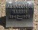 Profile photo:  Absalom Smith Harris, Jr