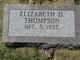 Elizabeth Dale Thompson