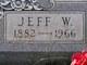 """Jefferson Ward """"Jeff"""" Davis"""