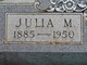 Julia M. Davis