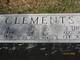 Effie E <I>Alvey</I> Clements