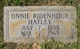 Onnie <I>Ridenhour</I> Hatley