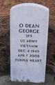 """Odis """"Dean"""" <I> </I> George"""