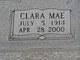 Clara Mae <I>Baker</I> Judah