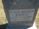 Claud Macklin Barrett