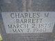 Charles M Barrett