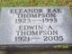 Eleanor Rae <I>Low</I> Thompson
