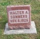 Walter A Sommers