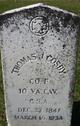 Pvt Thomas J. Cosby