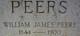 Pvt William James Peers
