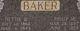 Nettie Phebe Bernetta <I>Meecham</I> Baker