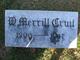 William Merrill Cruit