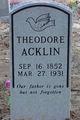 Theodore Acklin
