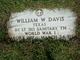 Dr William Walter Davis