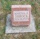 Martha E Shrock
