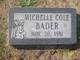 Michelle Cole Bader