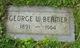 Profile photo:  George Washington Beamer