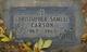 Profile photo:  Christopher Samuel Carson