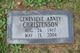 Genevieve <I>Abney</I> Christenson