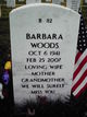 Barbara Jean <I>Jackson</I> Woods