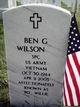 Ben G Wilson, Jr
