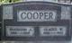Gladys <I>White</I> Cooper