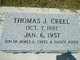 "Thomas Jefferson ""Tom"" Creel"