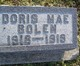 Profile photo:  Doris Mae Bolen