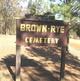 Brown-Rye Cemetery
