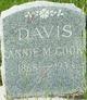 Profile photo:  Annie McKendree <I>Cook</I> Davis