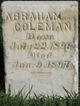Profile photo:  Abraham Coleman