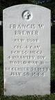 CPL Francis W Brewer