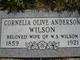 Cornelia Olive <I>Anderson</I> Wilson