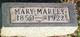 Mary Ann Marley
