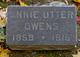 Annie <I>Utter</I> Owens