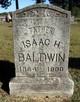 """Isaac Henry """"Hank"""" Baldwin"""