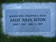 Profile photo:  Sally Julia <I>Bolyard</I> Seton