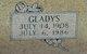Gladys <I>Wiltshire</I> Cox Shelton
