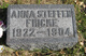 Anna <I>Steffen</I> Fricke