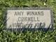 Amy <I>Winans</I> Cornell