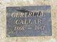 Profile photo:  Gertrude Callar