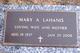 Mary Ann <I>Wilson</I> Lahanis