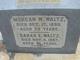 Morgan W. Waltz