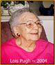 Profile photo:  Lois Lucille <I>McAlvain</I> Pugh