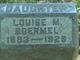 Louise Margaret Boermel