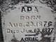Profile photo:  Ada Allen