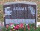 "Amelia Martha ""Toots"" <I>DeVries</I> Adams"