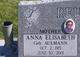 Anna Elisabeth <I>Aulmann</I> Reusch